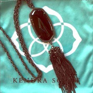 Kendra Scott Rayne Gunmetal and Black